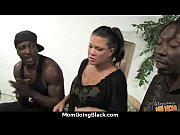 White horny mom in interracial hard sex 9