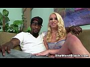 Blonde slut Kristen Jordan Rough Fucked by Black Cocks