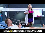 Picture Dirty blonde Doctor Alena Croft helps her pa...