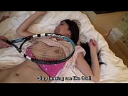 uncensored japanese milf affair with tennis.