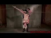 hogtied bdsm whore dildo fucked by.