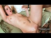 oiled up hottie fucks a big.