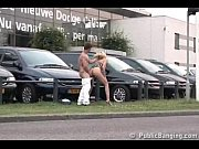 porn on a public car parking