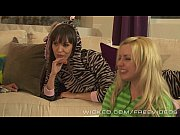 Wicked -  Late night schoolgirl lesbian threesome