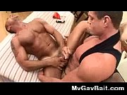 muscled dude gets deep prostate massage