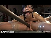Caged up babe receives gratifying
