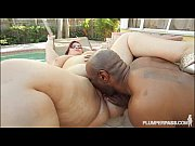 big belly bbw jazmin torres enjoys bbc cumming.