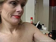 super sexy older lady is so horny she.