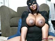 Cat women got nice big black tits