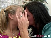 Horny housewife does teen girl