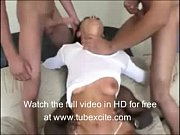 sandra romain gang banged very hard,.