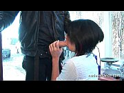 Gorgeous amateur french student hard double vaginal penetrated on the floor