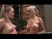 Hottest lesbian blonde action that you wi ...