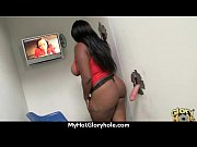 ebony confesses her sins at gloryhole.
