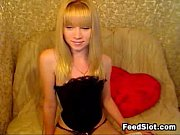 petite blonde teen girl being naughty