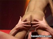 Brunette striper gets nailed hard