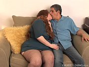 busty bbw redhead loves to suck cock and.