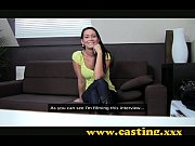 Casting - Beautiful brunette gets perfect ...
