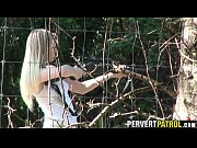 Hunting girl fucked in the woods.1