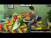 Nude men Braden Klien can&#039_t love Christmas with warring parents, but