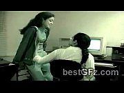 2 Naughty best friends got caught by vigilance camenra at the office