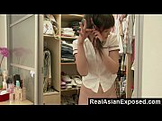 RealAsianExposed  Cute Asian Teen Strips  ...