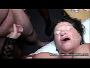 Picture Mature busty housewives bukkake party