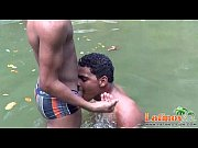 Picture Fun-loving gay Latinos in outdoor anal one-o...