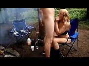 she sucks cock at the campsite in the.