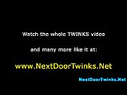teen twink tugs and cums