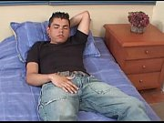 Hung Latin Boy Sebastian Jerks Off