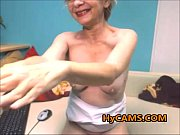 hot granny solo masturbation
