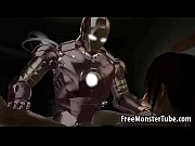 foxy 3d brunette getting fucked hard by iron man1-high_2