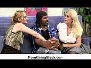 Super interracial sex horny MILF fucking black dude 4
