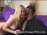 Hot Blonde Wife's Naughty Black Fantasy