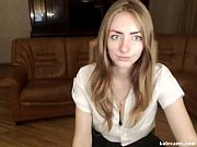 Hot Russian Blonde Seducing