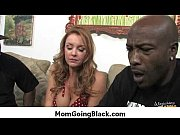 Huge black cock in tight mommys pussy 8