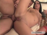 Big cock joins two horny sluts and fucks them in the ass GB-17-04