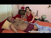 brunette stepdaughter sexual healing to sick.