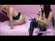 tattooed lexxi takes a strapon from a hot slut