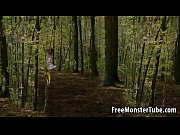 Hot 3D redhead with pig tails gets fucked in the woods1