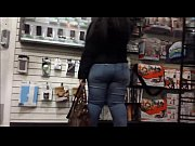 big butt at electronic store