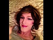 awesome facial- crossdresser sissy fay