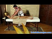 busty massage client giving masseur a.