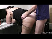 Fat secretary blowjob...