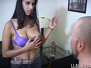 giantess kicks slave's balls hard and.