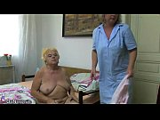 Mature woman using...