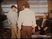 office threeway from vintage gay porn.