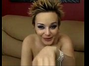blonde pregnant squirting on webcam -.