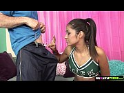 brokenteens teen cheerleader bangs her gym.